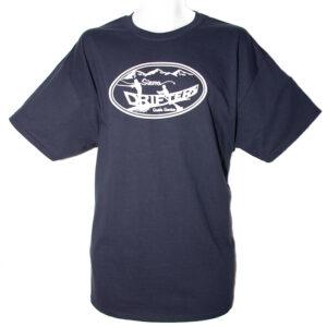 A Sierra Drifters navy blue tee shirt